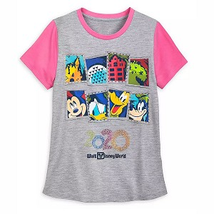 Disney Girls Shirt - Mickey & Friends - Walt Disney World 2020