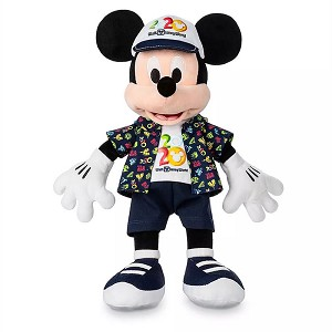 Disney Plush - Mickey Mouse - Walt Disney World 2020 Logo - 16''
