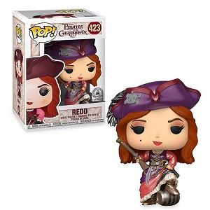 Disney Funko Pop Vinyl Figure - Redd - Pirates of the Caribbean – Limited Release