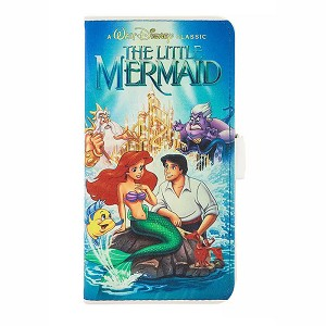 Disney iPhone Xs Folio Case - The Little Mermaid VHS Cover
