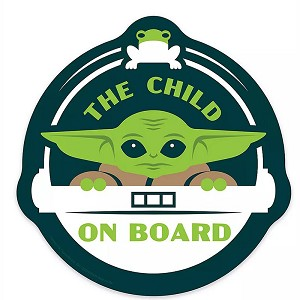 Disney Car Magnet - The Child On Board