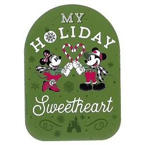Disney Car Magnet - D-Tech - Mickey Minnie - My Holiday Sweetheart
