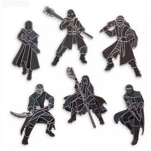 Disney Pin Set - Knights of Ren - Star Wars The Rise of Skywalker
