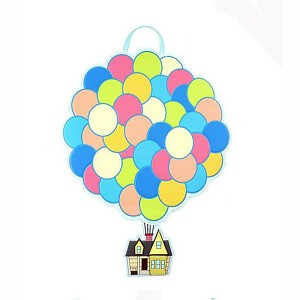 Disney Loungefly Mini Backpack Bag - Pixar UP Balloon House