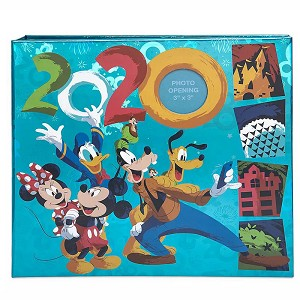 Disney Photo Album - Mickey & Friends - 2020 Disney Parks Logo