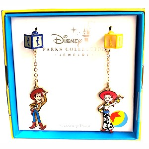 Disney Pixar Dangle Earrings - Woody & Jessie - Toy Story