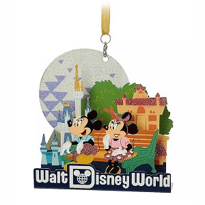 Disney Ornament - Mickey and Minnie Mouse Diorama  – Walt Disney World