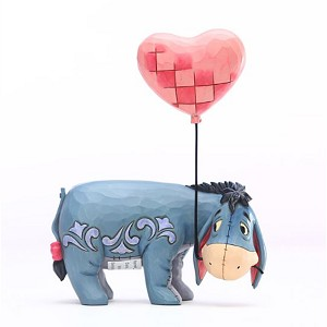 Disney Traditions by Jim Shore Figurine - Eeyore with a Heart Balloon