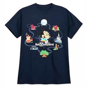 Disney Adult Shirt - Mickey Mouse Retro T-Shirt
