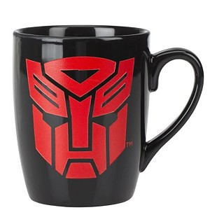 Universal Coffee Cup Etched Mug - Autobot Shield