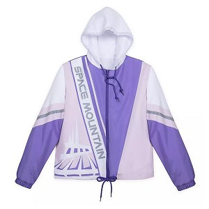 Disney Women's Jacket - Space Mountain WindBreaker