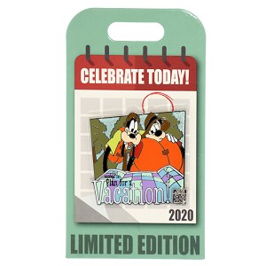 Disney Pin - National Plan for A Vacation  Day - January 28, 2020