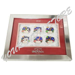 Disney Very Merry Christmas Party Pin Set - 2019 Framed Pin Set