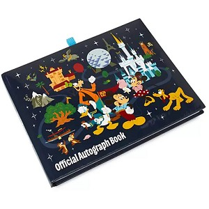 Disney Autograph Book - Mickey & Friends - Walt Disney World