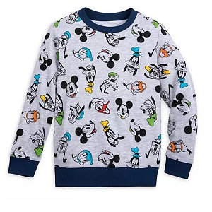 Disney Boys Pullover Shirt - Mickey Mouse & Friends