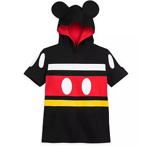 Disney Kids Hooded Shirt - Mickey Mouse Costume