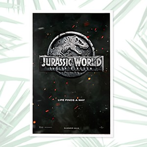 Universal Movie Poster - Jurassic World Fallen Kingdom