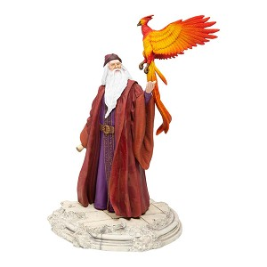 Universal Harry Potter Village Figure - Professor Dumbledore with Fawkes the Phoenix