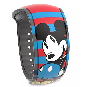 Disney MagicBand 2 Bracelet - Mickey Mouse Striped