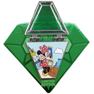 Disney Pin - Countdown to the 20th Anniversary of Pin Trading - Minnie Mouse #2