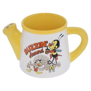 Disney Watering Can Mug - Buzz The Bee - PASSHOLDER - Epcot Flower & Garden Festival 2020