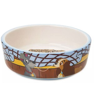 Disney Pet Food Bowl - Lady & The Tramp