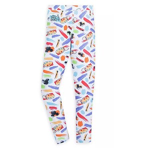 Disney Girls Leggings - Mickey Icon - Ink & Paint