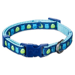 Disney Tails Dog Collar - Monsters, Inc Mike and Sulley