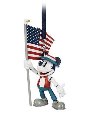 Disney Ornament - Mickey Mouse Americana