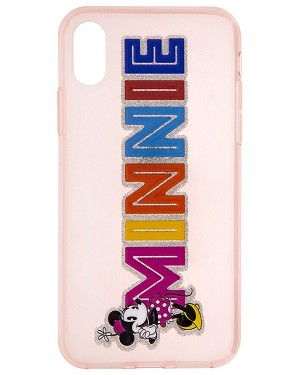 Disney iPhone XR Case - Minnie Mouse - Glitter Name