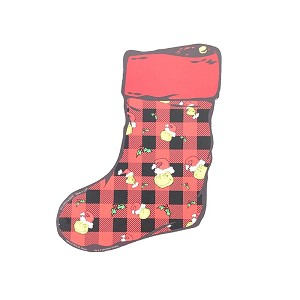 Universal Studios Magnet - The Grinch Stocking - Plaid