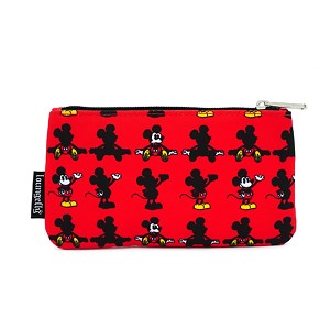 Disney Loungefly Nylon Pouch - Mickey Mouse Parts - Coin Bag
