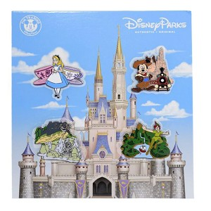 Disney Four Pin Booster Set - Character Rides