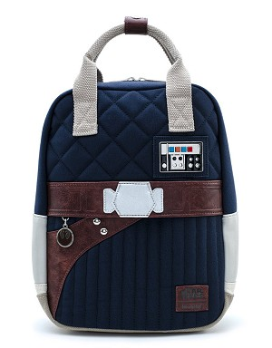 Disney Loungefly Mini Backpack Bag - Han Solo Hoth Outfit - 40th Anniversary - Canvas