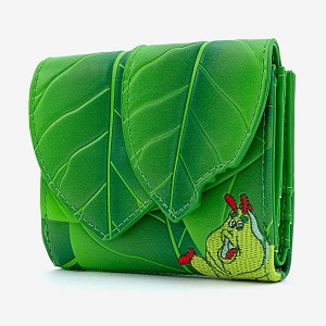 Disney Loungefly Flap Wallet - Heimlich - A Bug's Life Leaf