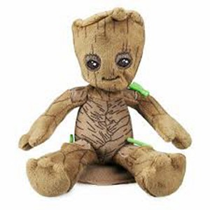 Disney Plush - Groot  Mini Magnetic Shoulder Plush