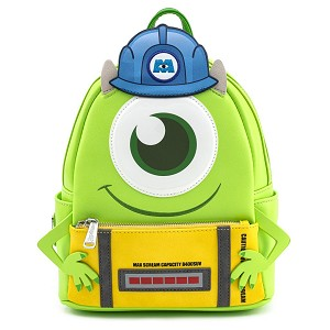 Disney Loungefly Mini Backpack Bag - Mike with Scare Can - Monsters Inc