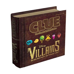 Disney Clue Game - Disney Villains Edition