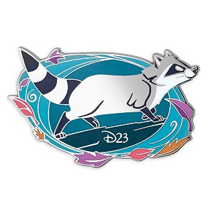 Disney Pin - D23 Pocahontas 25th Anniversary - Meeko - Limited Edition