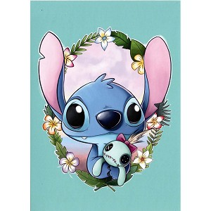 Disney Postcard - Chris Uminga - Stitch