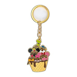 Disney Loungefly Keychain - Mickey and Friends Disney Sensational 6 Ice Cream