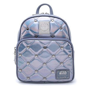 Disney Loungefly Mini Backpack Bag - Star Wars The Empire Strikes Back 40th Anniversary Hoth Iridescent