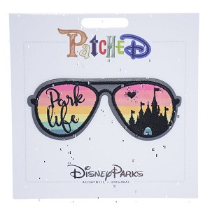 Disney Iron On Patch- PatcheD - Park Life - Sunglasses