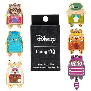 Disney Loungefly Mystery Pin - Alice in Wonderland Mini Backpacks