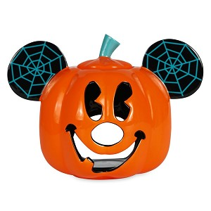 Disney Luminary Votive Candle Holder - Pumpkin Mickey Mouse Jack O' Lantern