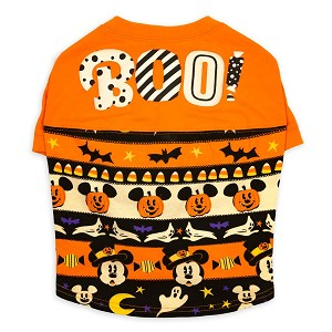 Disney Pet Wear Spirit Jersey - Happy Halloween - Mickey Mouse Pumpkins
