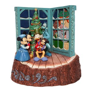 Disney Traditions by Jim Shore - Mickey's Christmas Carol Carved by Heart