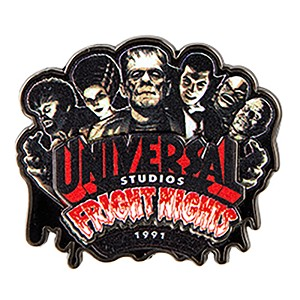 Universal Pin - Halloween Horror Nights - Retro Fright Night 1991