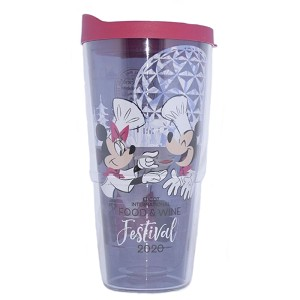 Disney Tervis Tumbler w / Lid - Epcot Food & Wine Festival 2020 - Chef Mickey Minnie