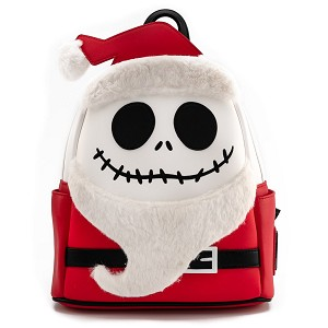 Disney Loungefly Mini Backpack - Nightmare Before Christmas - Santa Jack Cosplay